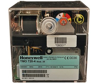 Satronic Honeywell TMO 720-4 Mod 35 Oil Burner Control Box
